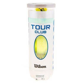 Мяч теннисный Wilson Tour Club 3шт SKL11-291799