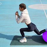 Мяч для фітнесу і гімнастики Power System 85 cm Purple SKL24-292011, фото 9