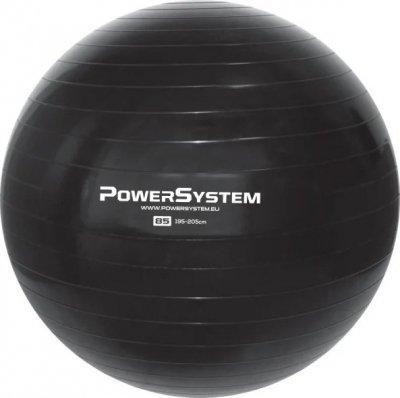 Мяч для фітнесу і гімнастики Power System 85cm Black SKL24-292012