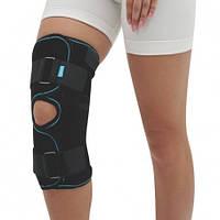 Бандаж на коленный сустав разъемный, Алком 3052