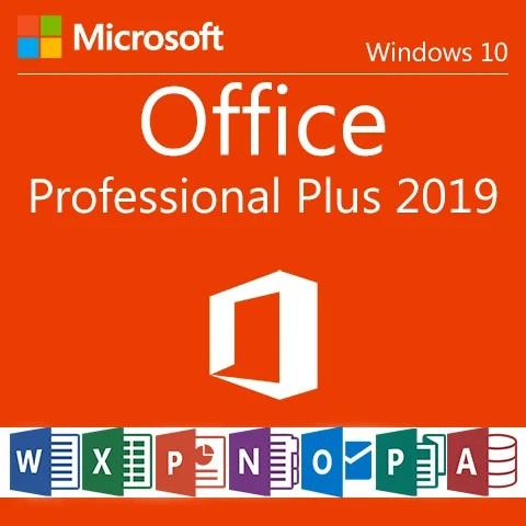 Office Professional Plus 2019 Цифровая лицензия, мультиязычная, многоразовая, привязываемая, binding