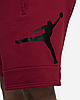 Шорти Jordan Jumpman Air men's Fleece Shorts CK6707-687 Красний, фото 4
