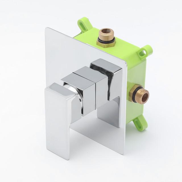 Змішувач для раковини прихованого монтажу KGR-03 з пластиковим монтажним боксом iBox.