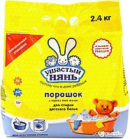 /Порошок стиральный для машинной и ручной стирки Ушастый нянь 2400 гр детский