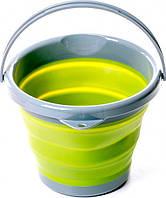 Ведро складное Tramp TRC-092 5 л силиконовое Olive