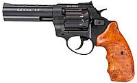 """Револьвер Флобера  Stalker S 4.5"""" (черный / пластик под дерево)"""