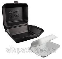 Ланч-бокс HP-9 из полистирола, 190x150x60, упаковка 250 шт, (1,60 грн/шт)