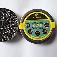 Кулі Winner 0.75 гр. 200 шт круглі