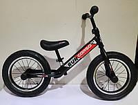 """Детский велобег беговел от 2 лет на надувных колесах 14"""" CORSO CR-5136 велосипед беговой без педалей, шаговел"""