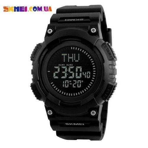 Военные часы Skmei 1259 | Компас (Black)