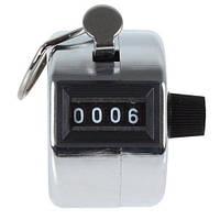 Счетчик ручной 4-разрядный HLV 0000-9999 Silver