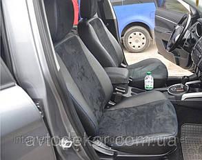 Чехлы на сиденья экокожа+алькантара для BMW E-36 1990-00 г.