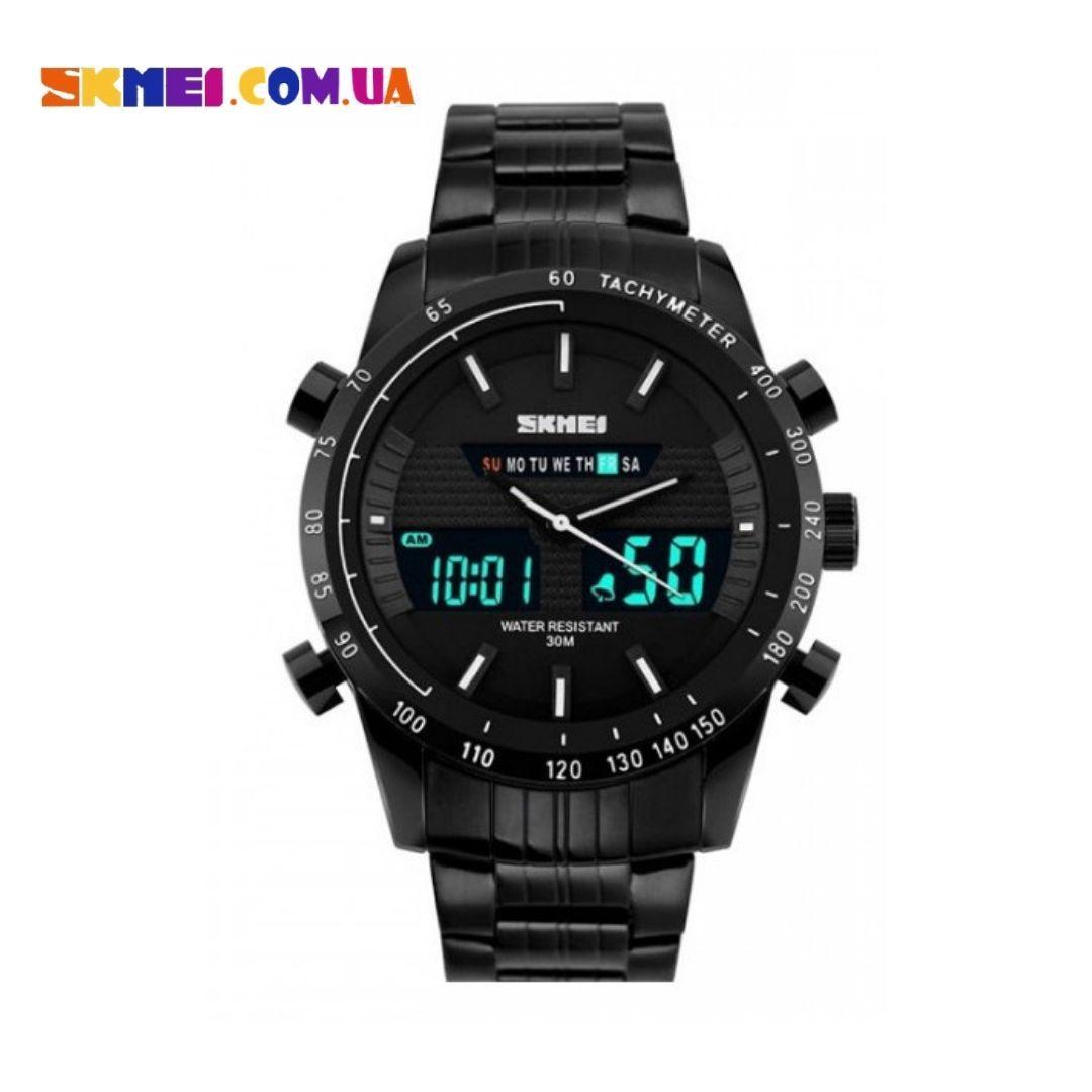 Чоловічий наручний годинник SKMEI 1131 (Black)