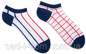Носки короткие Sammy Icon Grid Short 36-40 Blue/White