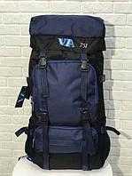Рюкзак туристический VA T-07-3 75л Blue