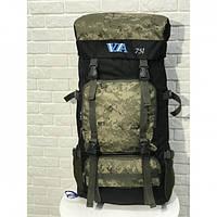 Рюкзак туристический VA T-07-9 75л Camouflage