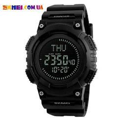 Спортивний годинник Skmei 1259 | Компас (Black)