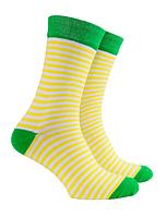 Носки Mushka Limono SWY001 36-39 Yellow/Green