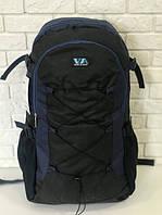 Рюкзак туристический VA T-09-3 55л Black/Blue