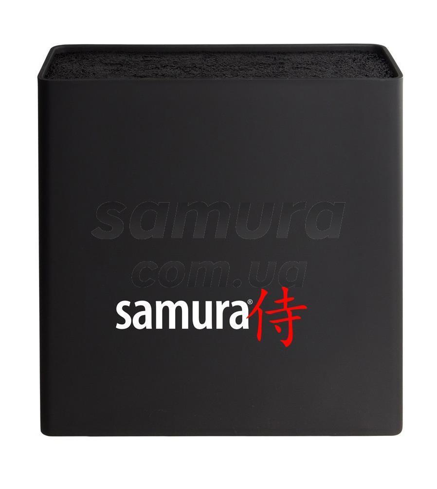 Підставка для ножів універсальна, чорна, Samura Hypercube (KBH-101)