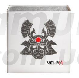Підставка для ножів універсальна, біла/самурай, Samura Hypercube (KBH-101S2)