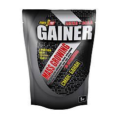 Гейнер для набора массы Power Pro Mass Growing Gainer 1000 грамм Банан