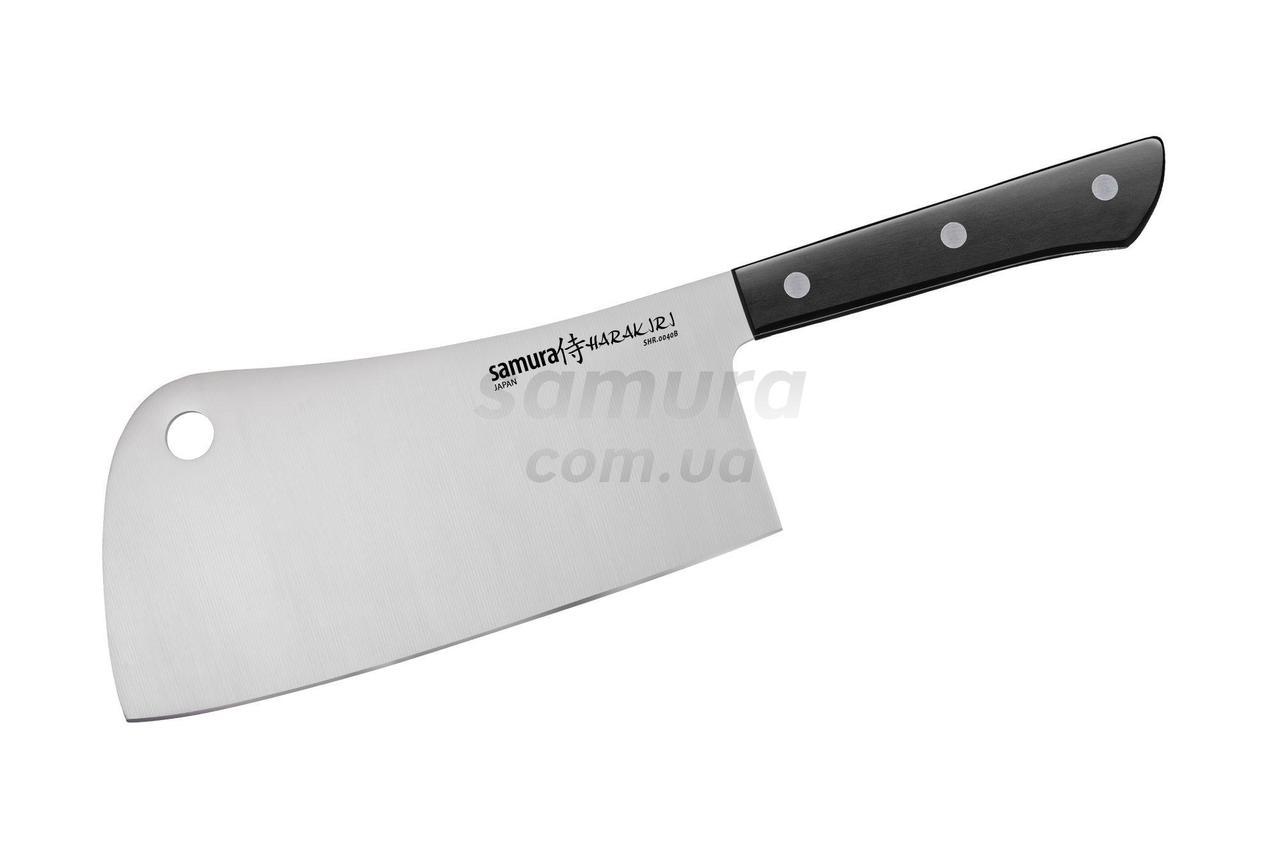 Ніж-сокирка кухонний для м яса, 180 мм, Samura Harakiri (SHR-0040B)