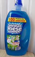 Рідкий пральний порошок Weiber Riese для кольорової і білої білизни, 5 л
