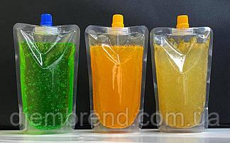 Пакет для лимонада и соков дой-пак со штуцером, 250-300 мл