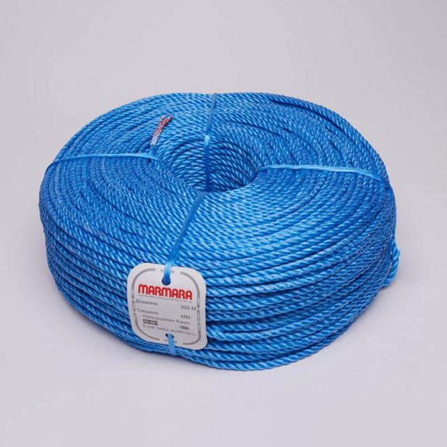 Канат поліпропіленовий marmara - мотузка кручена