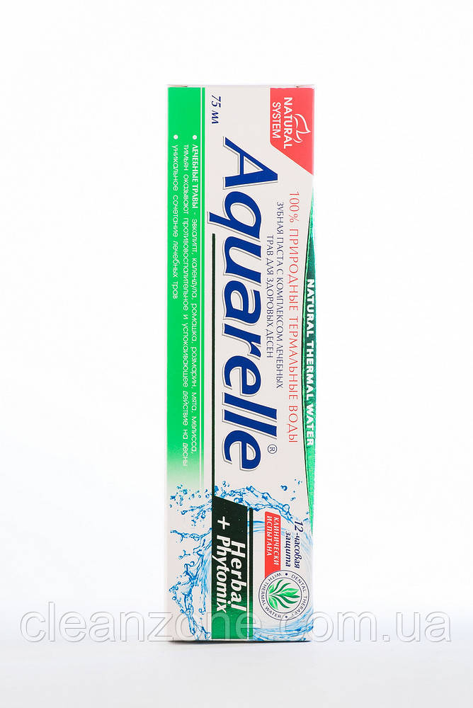 Aquarelle Зубна паста Herbal+Phytomix
