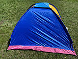 Палатка 3х местная автоматическая туристическая кемпинговая с вентиляцией универсальная для кемпинга, фото 10