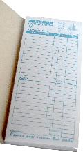 Бланк рахунок для офіціанта кухня/бар (А4/3, дві копії, 100 шт)