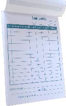 Бланк товарний чек (А6, офсетн, книжн, 100 шт)