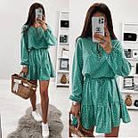 Женское красивое платье летнее с поясом, фото 6