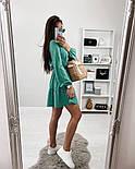 Красиве жіноче літнє плаття з поясом, фото 7