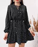 Красиве жіноче літнє плаття з поясом, фото 2