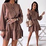 Красиве жіноче літнє плаття з поясом, фото 8