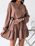 Женское красивое платье летнее с поясом, фото 9