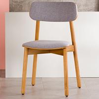 Кухонный стул Х с мягким сиденьем и спинкой, обивка рогожка Exim Marakesh 09