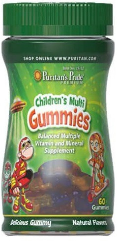 Мультивитамины и минералы для детей Puritan's Pride - Childrens Multivits & Minerals Gummies (60 мармеладок)