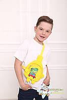 Дитяча сумочка через плече єдиноріг, дитяча сумка у вигляді єдинорога, фото 4