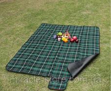 Коврик сумка для пикника и пляжа 175x135 см подстилка клетка, фото 2