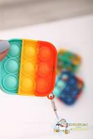Игрушка Антистресс брелок Mini Pop it Fidget Toys, игрушка поп ит антистресс, фото 2
