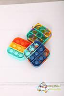 Игрушка Антистресс брелок Mini Pop it Fidget Toys, игрушка поп ит антистресс, фото 4