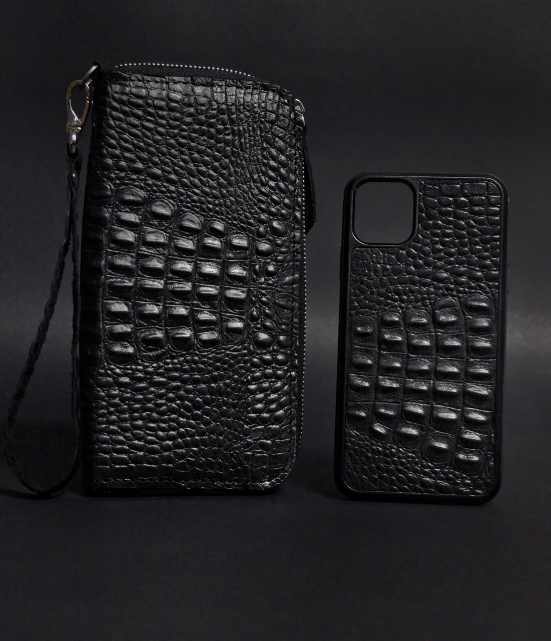 Подарочный набор кожаных аксессуаров Norton Premium Black