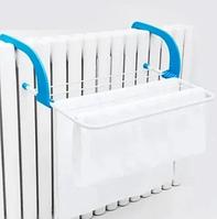 Съемная сушилка для одежды Fold Clothes Shelf, голубая, фото 1