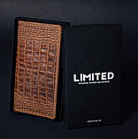 Чоловічий подарунковий набір шкіряних аксесуарів Millenium Crazy Whyski, фото 2