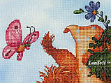 """Набор для вышивки крестиком ЛанСвит """"От всего сердца!"""" Д-002, фото 3"""