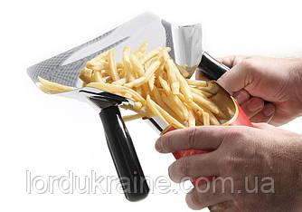 Совок для картофеля фри 200x230 мм, нержавеющая сталь Hendi